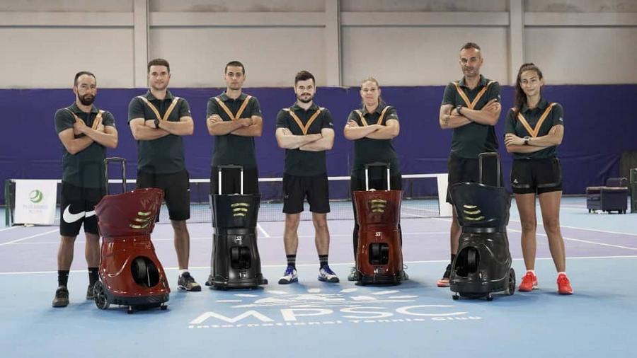 buy Tennis shooting ball machine