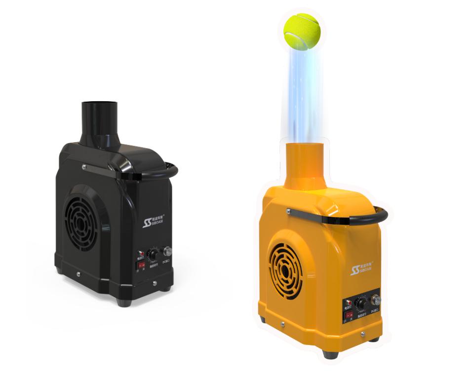 Tennis ball practice device