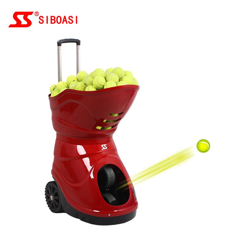 Tennis silent partner machine