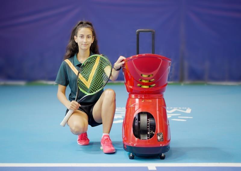 Tennis ball machine siboasi