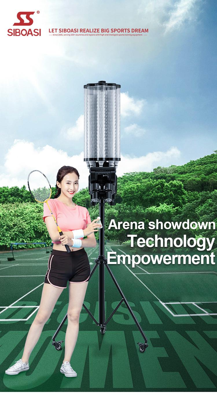 badminton shooter robot -1