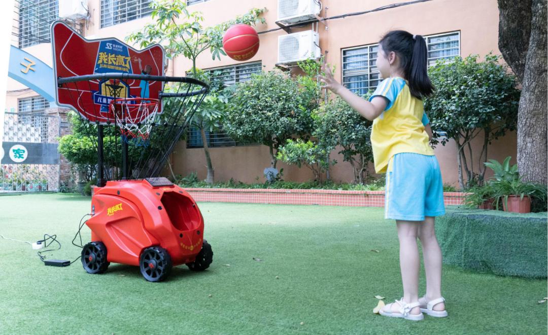 children basketball shooting machine