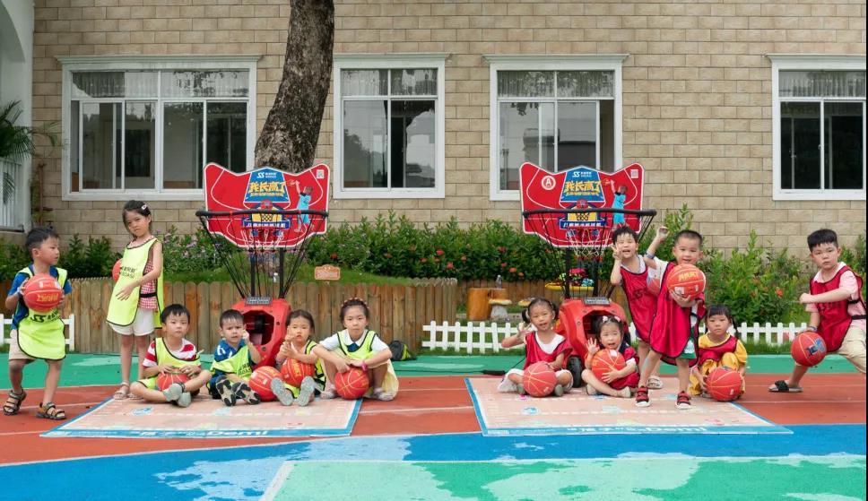 children toy machine for basketball