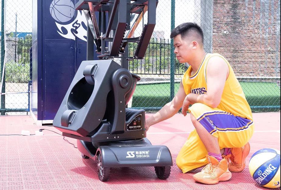 new basketball machine