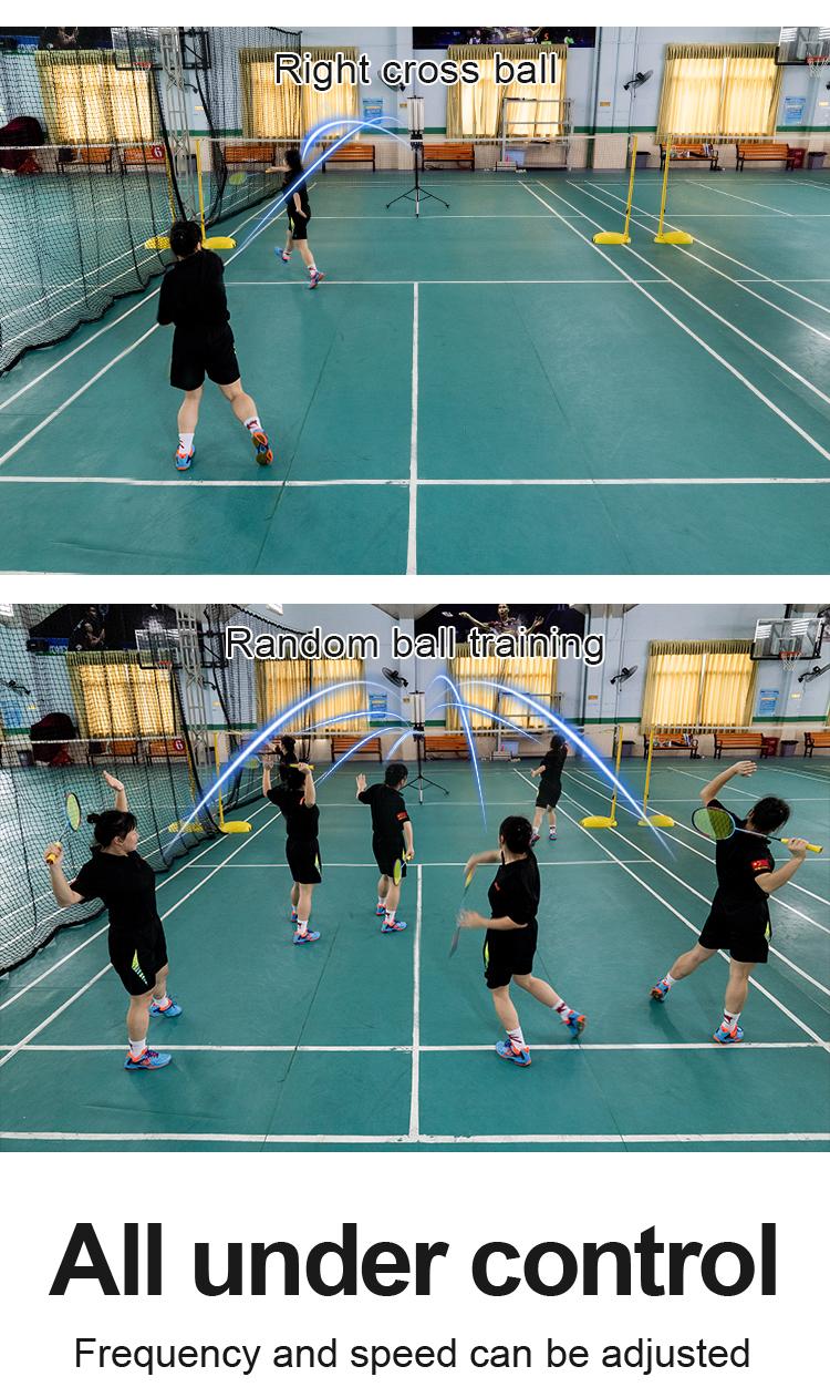 play badminton training machine-5