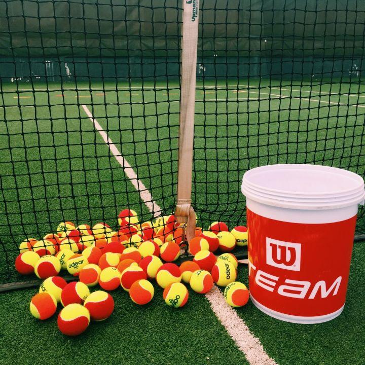 tenis ball machine red ball