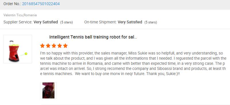 buy tennis machine europe