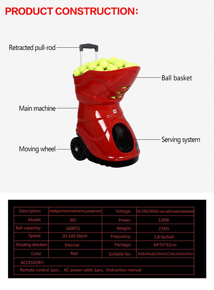 tennis practice machine